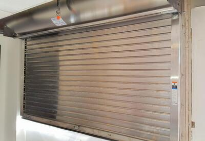 Stainless Steel Fire-Rated Counter Gate