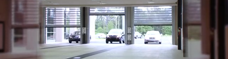 High-Speed Doors in an Auto Dealership in NYC