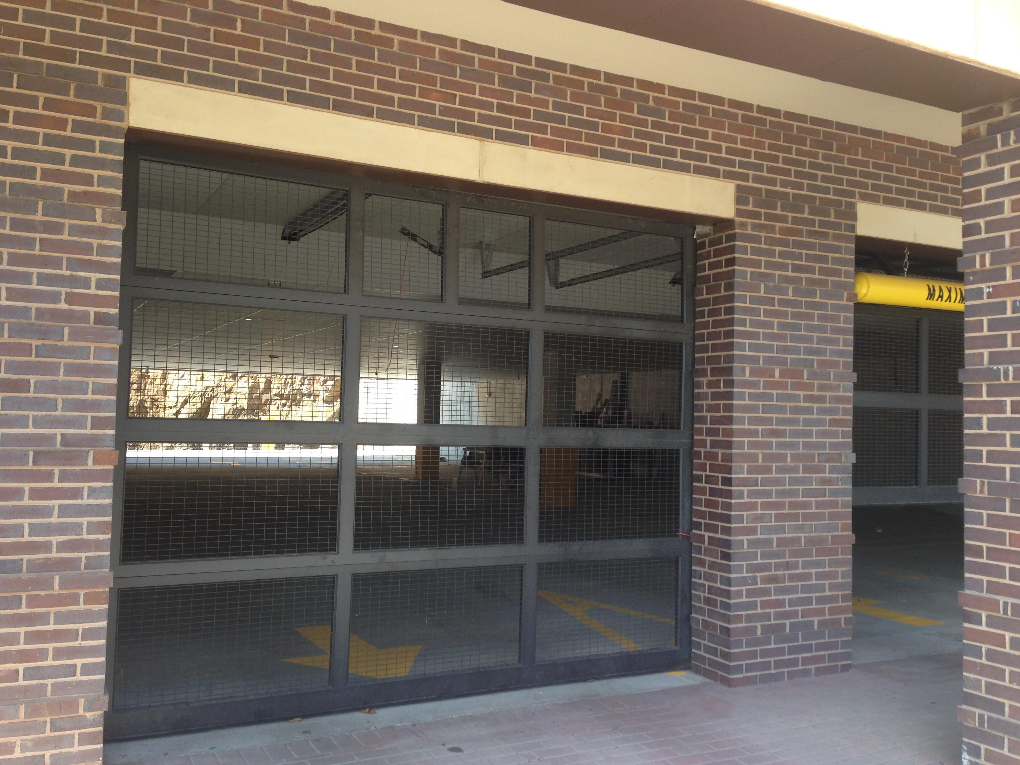 wire-mesh-garage-door-nyc-nj.jpg & Wire Mesh Overhead Doors Pezcame.Com