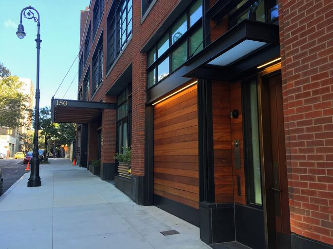Finest doorman blog loading dock new jersey new york for Townhouse with garage nyc