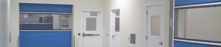 High Speed Or Fast Rolling Doors For Life Sciences