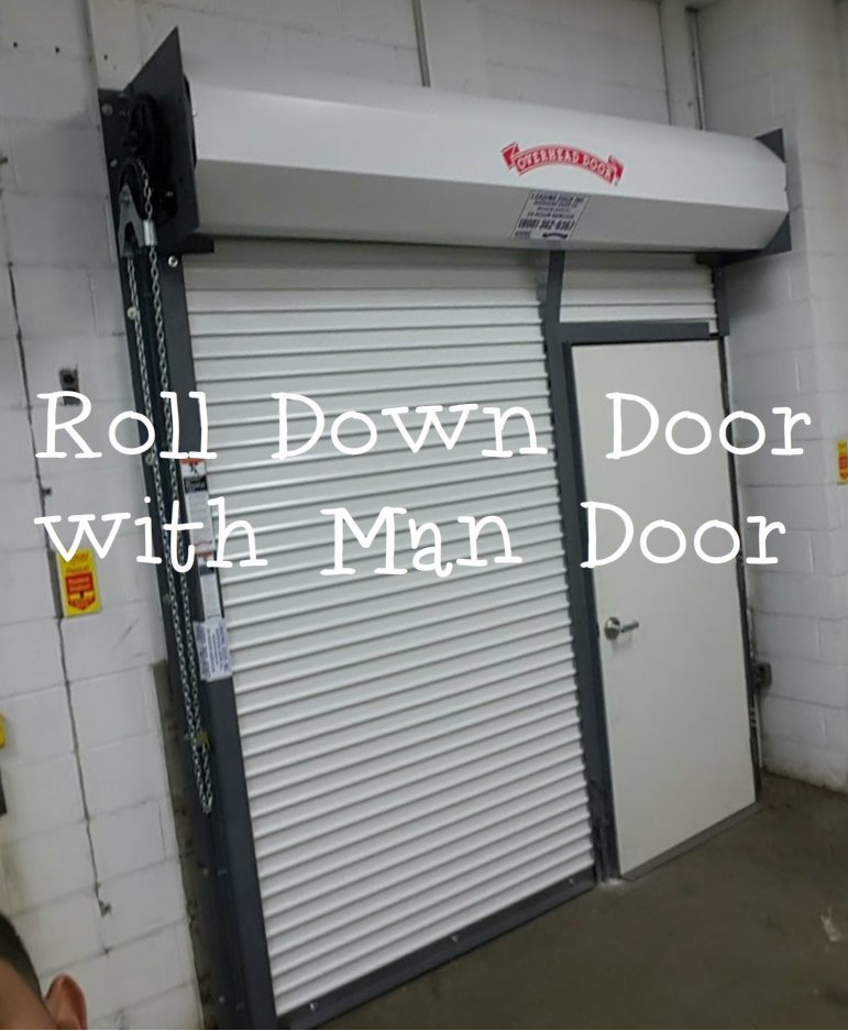 Roll Down Door With Man Door