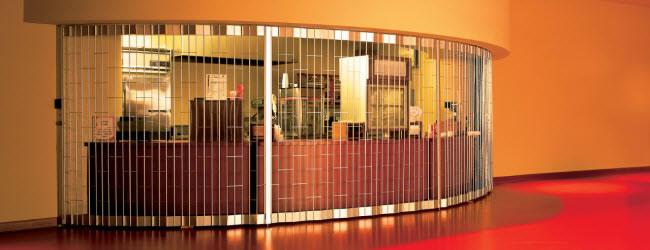 Security grilles series by overhead door corporation