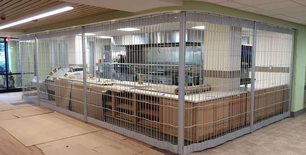 Security Grilles 683 Series By Overhead Door Corporation